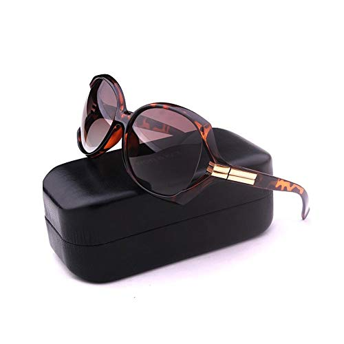 JFFFFWI Polarisierte Sonnenbrille Frauen männer Vintage Designer Fahren Urlaub Raveling uv400 Schutz (Farbe: 3)