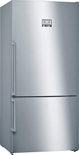 Bosch KGN49XI40 Serie 4 XXL-Kühl-Gefrier-Kombination / A+++ / Freistehend / 86 cm Breite / 186 cm / 252 kWh/Jahr / Inox-antifingerprint / 479 L Kühlteil / 140 L Gefrierteil / NoFrost