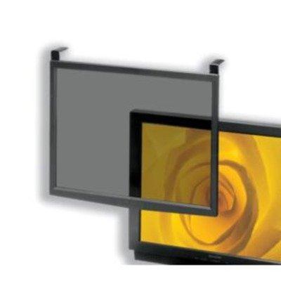 """5 Star CCS20552 - Filtro in vetro antiriflesso per schermo CRT/LCD da 16""""-17"""", colore cornice: Nero"""