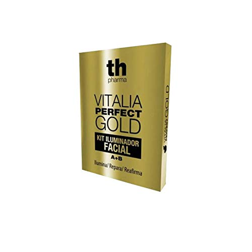 INNOVACIONES COSMETICAS VITALIA PERFECT GOLD KIT ILUMINADOR FACIAL 1 A