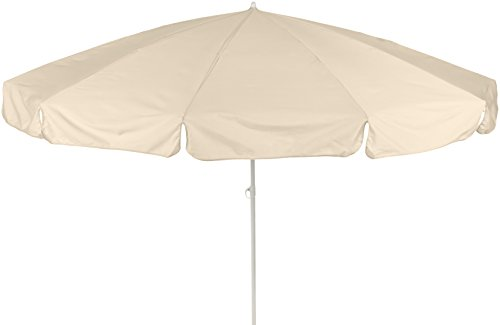 beo 141048 Dralon Sonnenschirm, Durchmesser 240 cm, beige