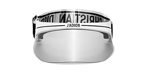 Dior Sonnenbrillen DIORCLUB1 VISOR WHITE/GREY SILVER Unisex