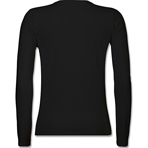 Shirtracer Statement Shirts - You Got This - Damen Langarmshirt Schwarz