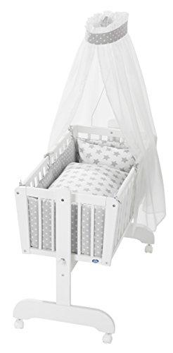 ALVI MATRATZE HYGIENAIR Maße 88 cm x 55cm für Wiegen Babymatratze Wiegenmatratze