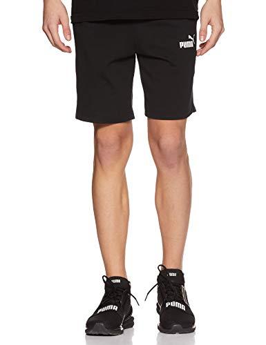 Puma Herren ESS Jersey Shorts Hose, Black, M -