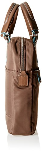 Piquadro Ca1903ce Handtasche, Erwachsene Unisex, Schwarz tortora