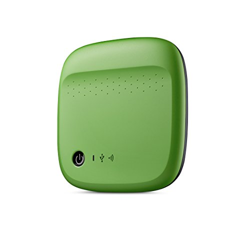 500GB USB 2.0, WiFi Seagate Wireless Mobile, STDC500401 (Seagate Wireless Mobile Green)