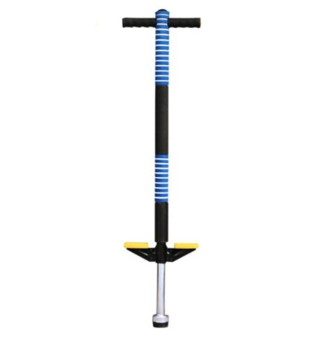 antifiction Delta Pogo Stick Foam Padded Jumping Sport Exercise Stilt Healthy Toy Latest Novelty Best Gift for Kids Boy Girl Ages 5 & up 20-40 kg (BLUE)  available at amazon for Rs.1500