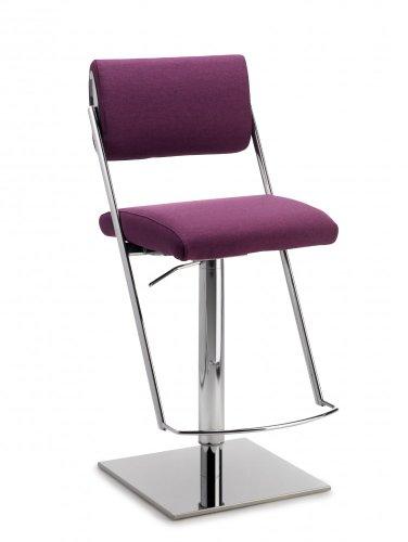 Mayer Sitzmöbel Barhocker Tresenhocker JET LINE LIFT 1245 Sitz-/Rücken Bezug Stoff oder Kunstleder Bezug 26297