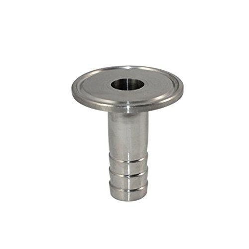 19MM 3/4' OD Adaptador De Tubería Sanitaria Manguera De Púa Apropiado Se Aplica TRI CLAMP (OD 50.5mm)