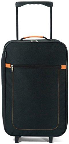 Benzi plegable maleta trolley plegable 2ruedas (Negro Cabin)