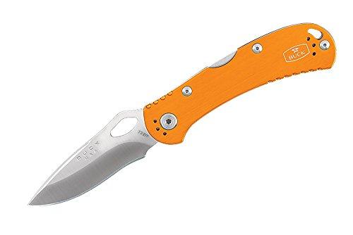 Buck Spitfire N722 Couteau pliant Orange 11 cm