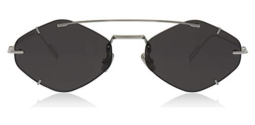 Dior Homme DIORINCLUSION 010 Palladium DIORINCLUSION Oval Sunglasses Lens Category 3 Size 55mm