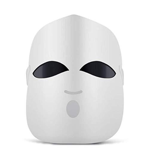 YWT 3-Farben-LED-Maske, Photon Red Light-Behandlung für gesunde Hautregeneration, Schönheitspflege, Kollagen, Anti-Aging, Falten, Narben, Gesichtshautmaske -
