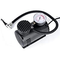Auto Hub 12V 300 Psi Car Electric Air Compressor Pump - Black