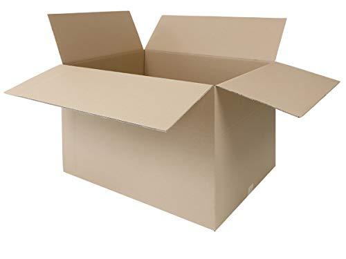 25 Faltkartons 800 x 600 x 600 mm | großer Versandkarton geeignet für DHL | variable Höhe | 2-wellige BC-Welle | 1-25 Kartons wählbar