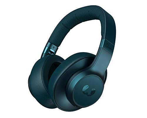 Fresh 'n Rebel Clam - ANC Headphones over-ear Petrol Blue, Cuffie Sovraurali Bluetooth senza fili con Active Noise Cancelling, Cavo di riserva, Blu Petrolio