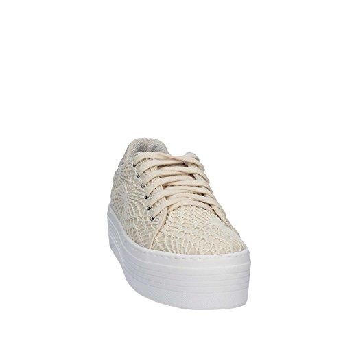 Guess Sneaker femmes Sumy F/Do Alto Cm 4 Merletto Beige Beige