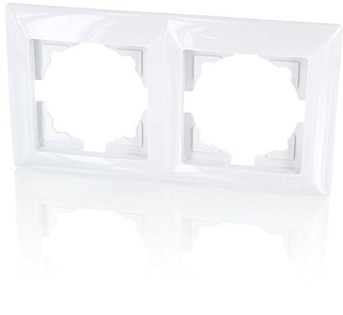 Rahmen 2-fach (Serie G1 reinweiß)