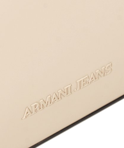 Armani Jeans Femmes Sac Shopper mat grand Nude Nude