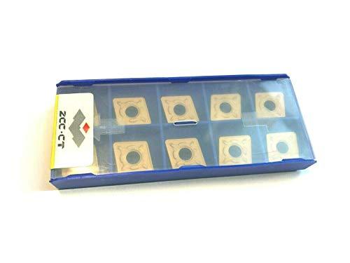 10 Stück Wendeplatten CNMG 120408 TiN Neu und originalverpackt