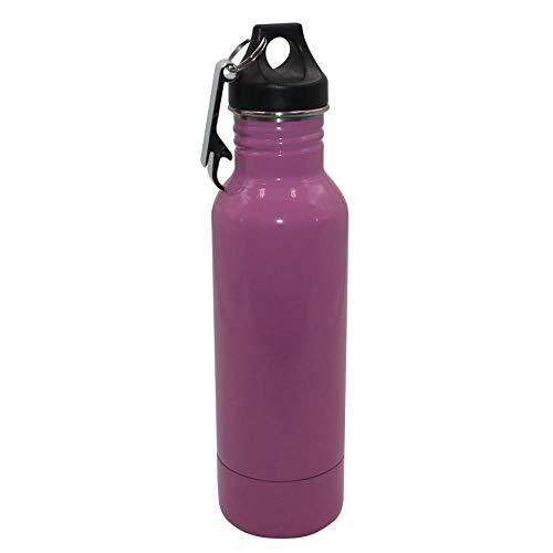 0abf031f1140 Stainless Steel Beer Bottle Holder Bottle Opener Insulator Within Bottle  Keeps Beer Cold Fits Most 12oz Bottles@12oz_Pink