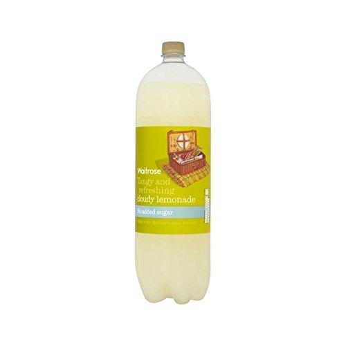 Faible En Calories Limonade Nuageux Waitrose 2L (Paquet de 4)