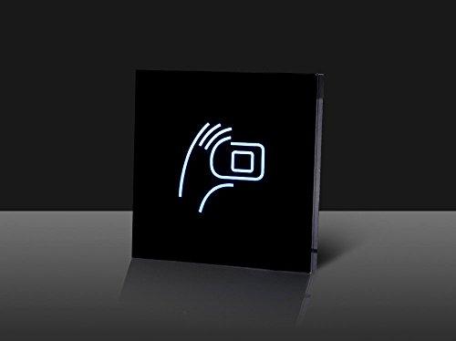Waizmann.IDeaS® GLAS RFID Leser Reader IP65 125 KHZ Wiegand 26/34 RFID-Lesegerät WEEE-Reg. DE28257364