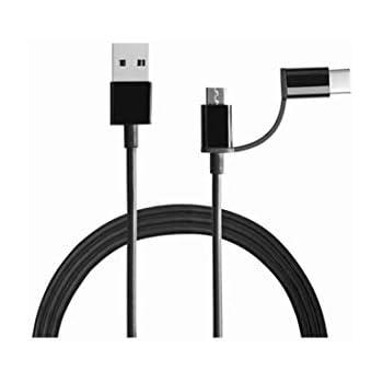 Mi 2-in-1 USB Cable (Micro USB to Type-C) 100cm