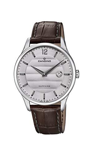 Candino Reloj Analógico para Hombre de Cuarzo con Correa en Cuero C4638/2
