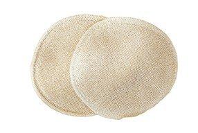 Stilleinlagen Seide/Wolle/Seide 14cm Durchmesser Bio