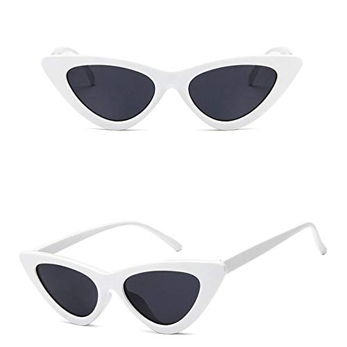 GNLLYOPMode Cat Eye Sonnenbrille Frauen Markendesigner Vintage Candy Farbe Dreieck Sonnenbrille Outdoor Brille Boden Oculos