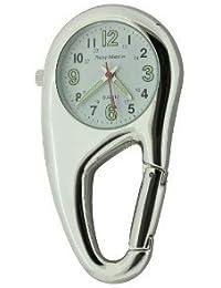 Philip Mercier NW09A Reloj De Bolsillo Carabiner Unisex Para Enfermeras Enganchable