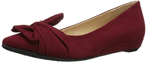 CL by Chinese Laundry Damen Super Cute, Cherry Red Suede, 39.5 EU Mia Suede Shoes