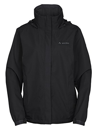 Vaude Escape Light Jacket Women Black Größe 44 2019 Funktionsjacke