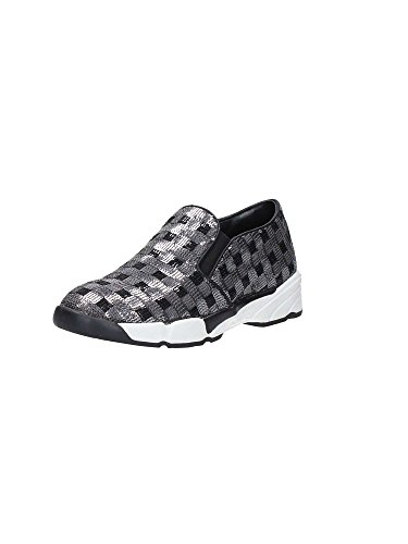 Scarpe Donna Sneakers Slip On PINKO 1H208D Sequins1 ZZF Silver Shine Baby Shine Argento