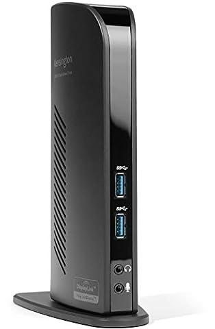 Kensington Station d'Accueil USB 3.0 Double Sortie Vidéo (DVI + HDMI) pour Ordinateur Portable -
