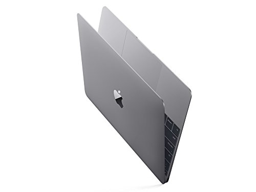 Apple MacBook Retina MJY32D/A 30,4 cm (12 Zoll) Notebook (Intel Core M, 1,1GHz, 8GB RAM, 256GB SSD, Intel HD 5300, Mac OS) space grau