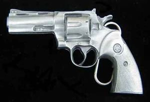 38 Revolver Gun Belt Buckle Detailed Buckles New by Buckle