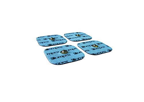 CefarCompex 6260760 - Electrodos Easysnap Performance, 5 X 5 cm, Color Azul