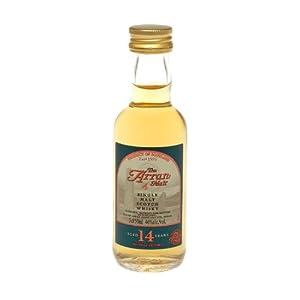 Arran 14 year old Single Malt Scotch Whisky 5cl Miniature by Arran
