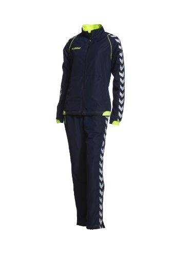 Hummel Anzug (Hummel Damen Trainingsanzug Authentic Micro, marine/neon yellow, XS,)