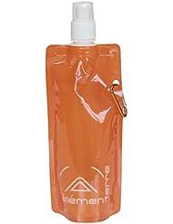 Elementerre PUREWATER - Botella sopladora 100%pe, color naranja , talla única