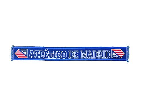 ATLETICO DE MADRID BUFANDA OFICIAL COLOR AZUL