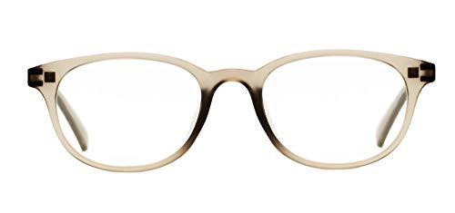Z-ZOOM Lesebrille Style 01044 Grau +2.5 Damen Herren Unisex Lesebrillen Augenoptik Flexibel Lesehilfe Sehhilfe Leser Brille