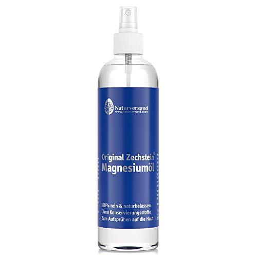 Magnesiumöl von NaturversandTM | Magnesium-Spray aus original Zechstein Inside Magnesiumchlorid Natursole (300ml) - Magnesium-Öl
