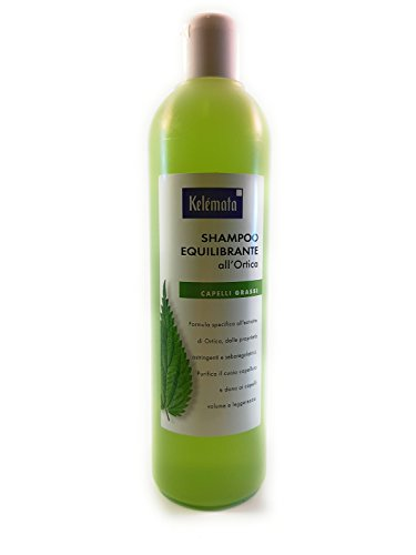 Kelemata Shampoo Equilibrante all'Ortica, Trasparente - 250 ml