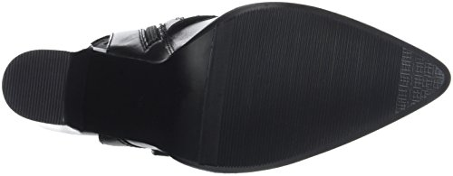Bronx Damen BX 1217 Bamericanax Slingback Pumps Schwarz (Black 01)