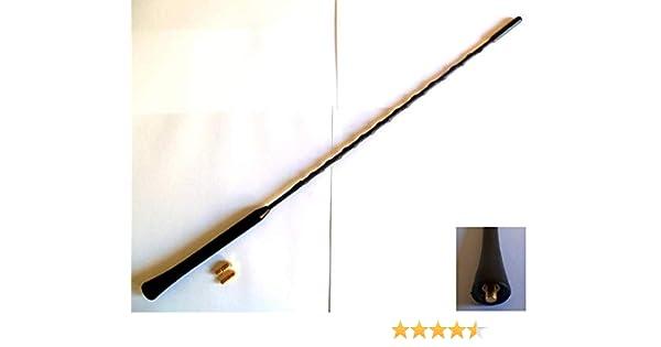 Honda S2000 Black Rubber Genuine Replacement AM//FM Aerial Mast Antenna Roof Screw In Type