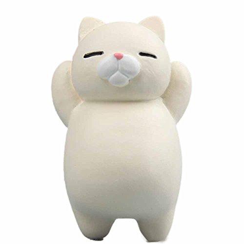Selou Kühlschrank Aufkleber Lustige Cartoon Tier Katze Kühlschrankmagnet Farbaufkleber Kühlschrank Geschenk Inneneinrichtung Haken...